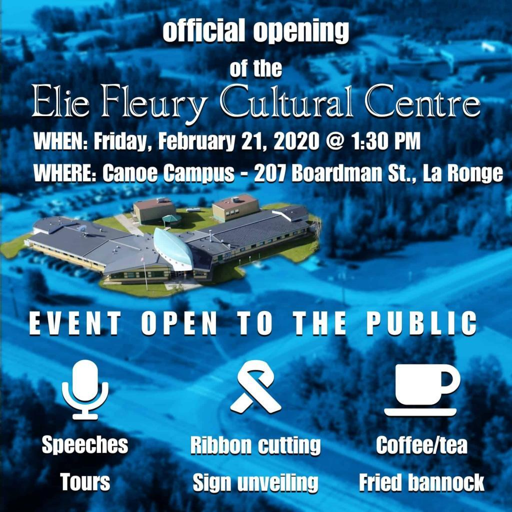 cultural centre opening